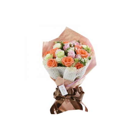 mix roses bouquet to manila