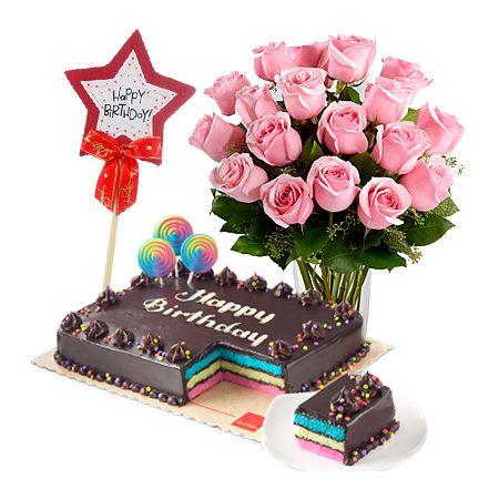 Get Offer Rose Birthday Combo To Cebu