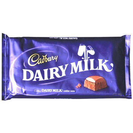 send cadbury dairy milk chocolate 165g to philippines