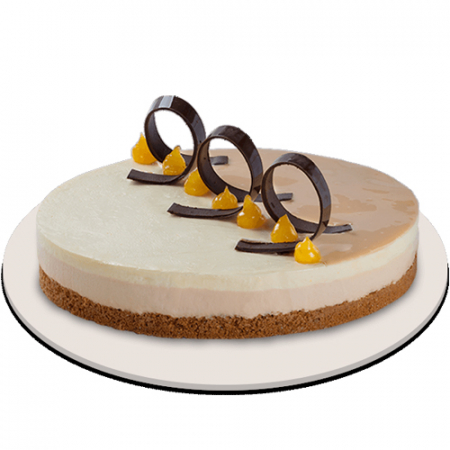 send caramel mango mousse cake by red ribbon to philippines