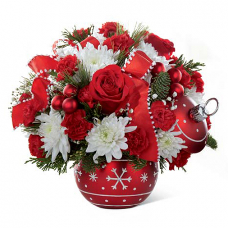 send ornament christmas bouquet to manila