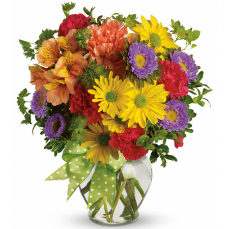 send mixed halloween flowers in a vase to manila philippines