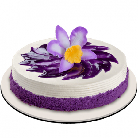 send ube bloom cake by red ribbon to philippines