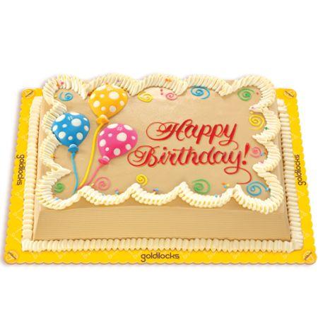 Mocha Chiffon Cake by Goldilocks