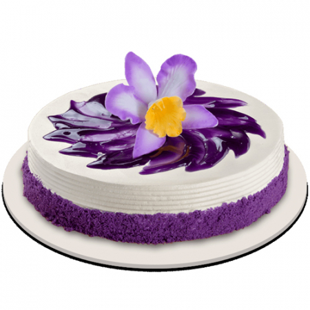 New Ube Bloom Cake by Red Ribbon