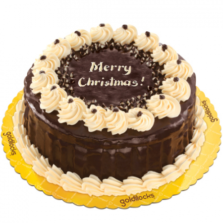 send christmas rocky road cake by goldilocks to philippines