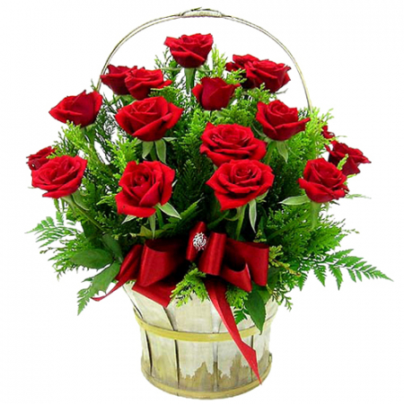 send buy 24 roses get basket free to manila