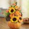 send halloween pumpkin n' posies send to manila