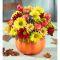 send pumpkin flowers arrangement to manila philippines