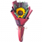 send single sunflower in bouquet to manila