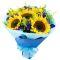 send half dozen sunflower in bouquet to manila