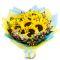 send a dozen of sunflower in bouquet to manila